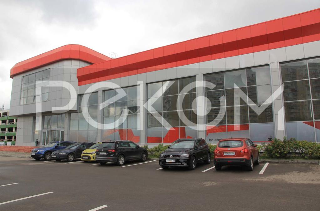 Продается здание автосалон москва как проверить авто на банковский залог