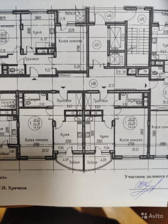 1-к квартира, 46 м, 15/17 эт. - Фото 9