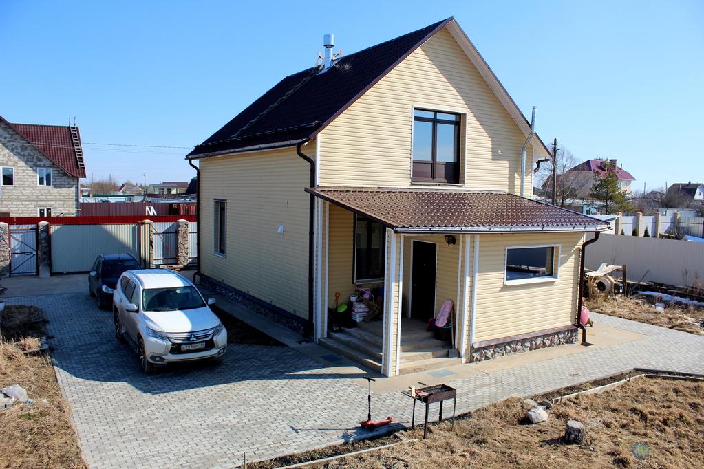 Зимний коттедж с гостевым домом и гаражом - Фото 20