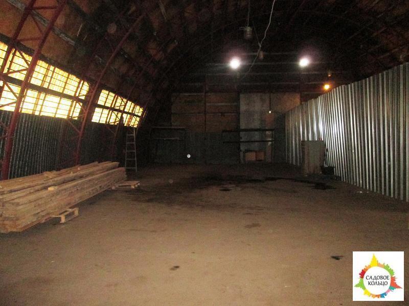 Под склад, ангар, холод, ворота для газели, огорож. терр, охрана. Выс - Фото 0