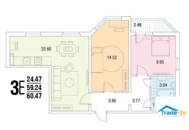 Продажа квартиры, Воронеж, Ул. 45 Стрелковой Дивизии - Фото 0