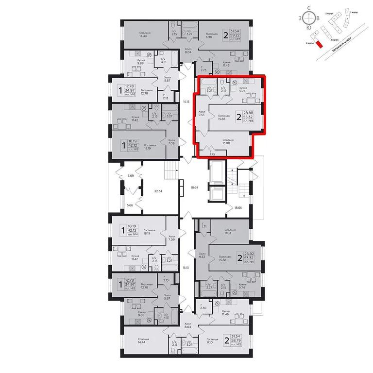 Продажа квартиры, м. Ольховая, Москва - Фото 1
