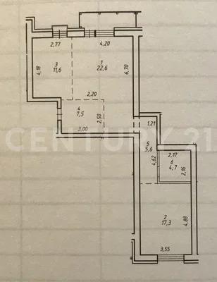 Продажа 2-комнатной квартиры в кирпичном доме комфорт класса. - Фото 9