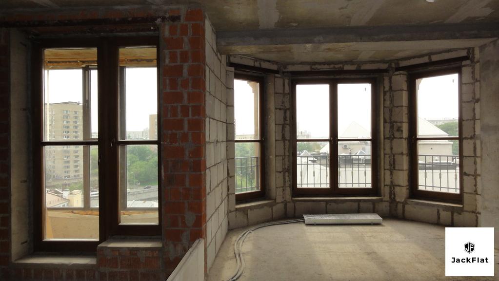 80 кв.м, св. планировка, 8этаж, 8 секция - Фото 5