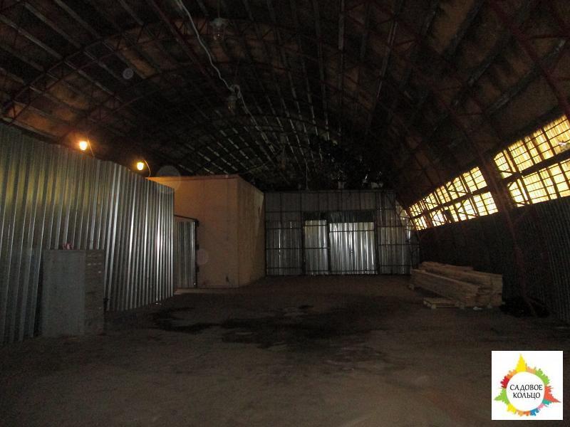 Под склад, ангар, холод, ворота для газели, огорож. терр, охрана. Выс - Фото 1