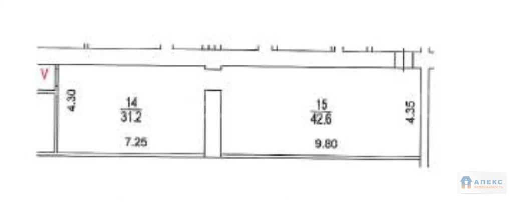 Продажа помещения свободного назначения (псн) пл. 147 м2 м. Парк . - Фото 2