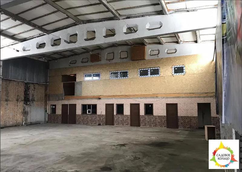 Сдаётся помещение под склад, производство, автосервис. Высота потолков - Фото 0