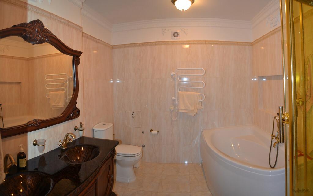 Квартира с дизайнерским ремонтом в элитном ЖК, в Гурзуфе, вид на море - Фото 17