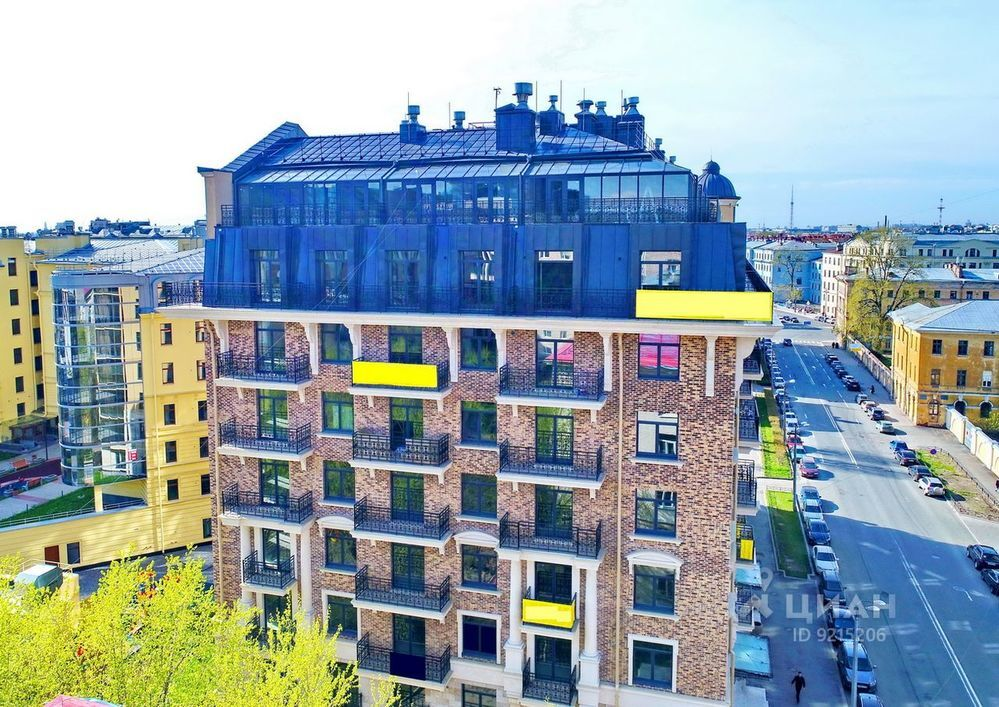 2-к кв. Санкт-Петербург Кирочная ул, 57 (77.0 м) - Фото 1