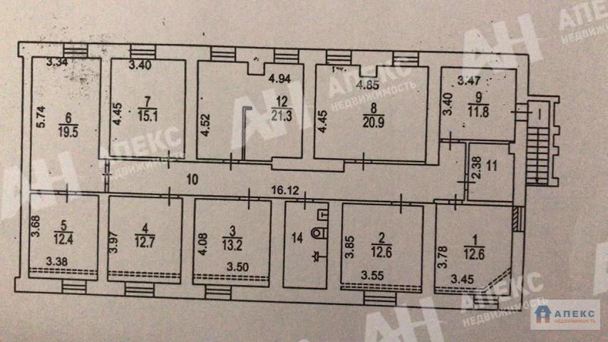 Продажа помещения (псн) пл. 190 м2 под авиа и ж/д кассу, бытовые . - Фото 0