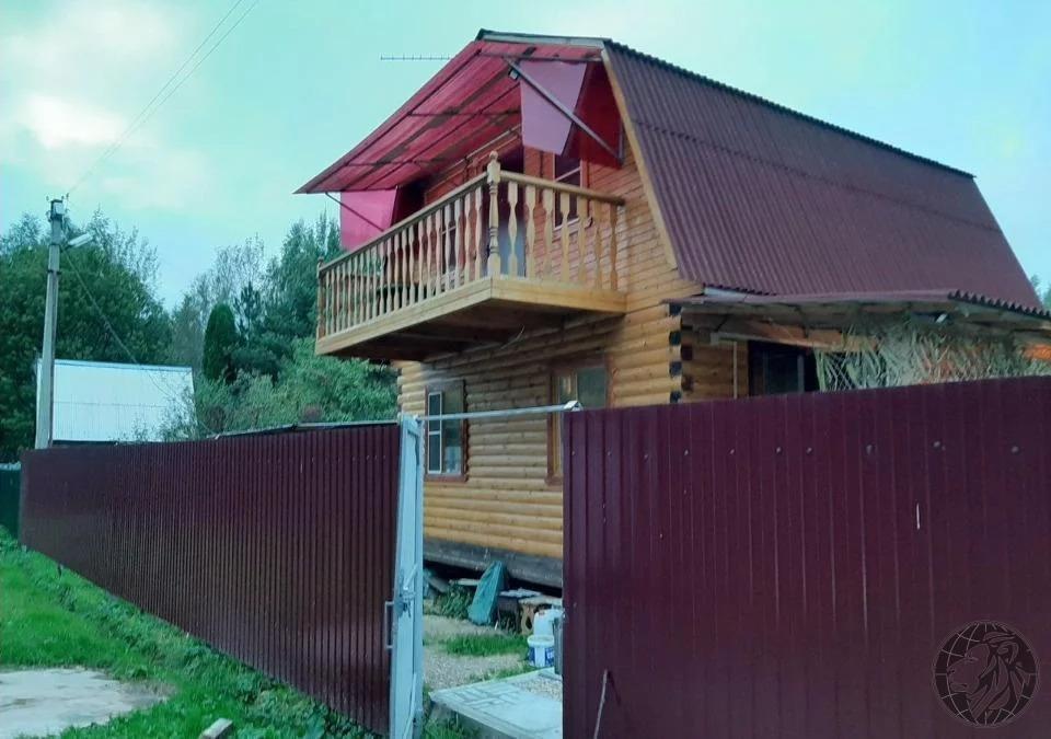 Новый дом из бруса с балконом и шикарным видом на лес. - Фото 1