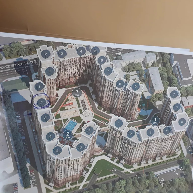 3-х комнатная квартира в ЖК Династия - Фото 15