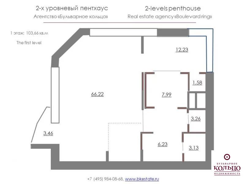 Аренда квартиры, м. Проспект мира, Протопоповский пер. - Фото 1