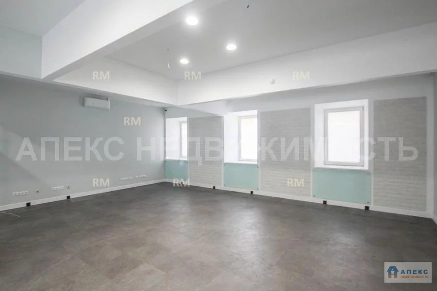 Аренда офиса 198 м2 м. Курская в бизнес-центре класса В в Басманный - Фото 1