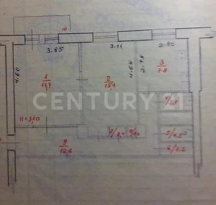 Продажа 2 -к квартиры на 5/5 этаже на пр. Ленина, д. 16 - Фото 16
