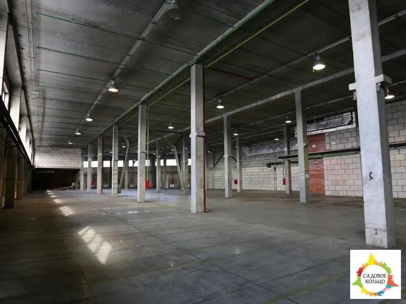 Под склад, площ.: выс. потолка: 6 м, отаплив, огорож. терр, охрана, - Фото 9