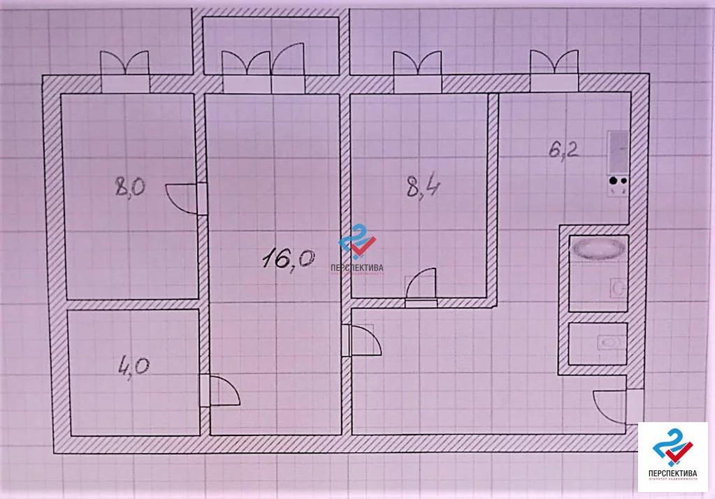 Продажа квартиры, Брянск, Ул. Дружбы - Фото 13
