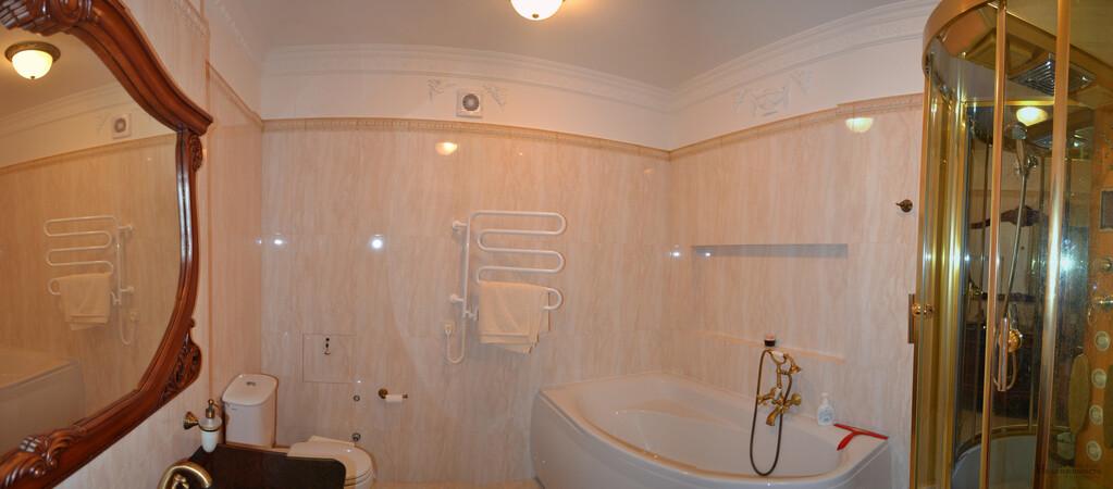 Квартира с дизайнерским ремонтом в элитном ЖК, в Гурзуфе, вид на море - Фото 15