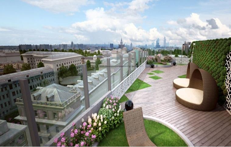 "ЖК ""Сады Пекина""- Penthouse, 177 кв.м, 13/13 этаж, 1 корпус, 5 спален - Фото 13"
