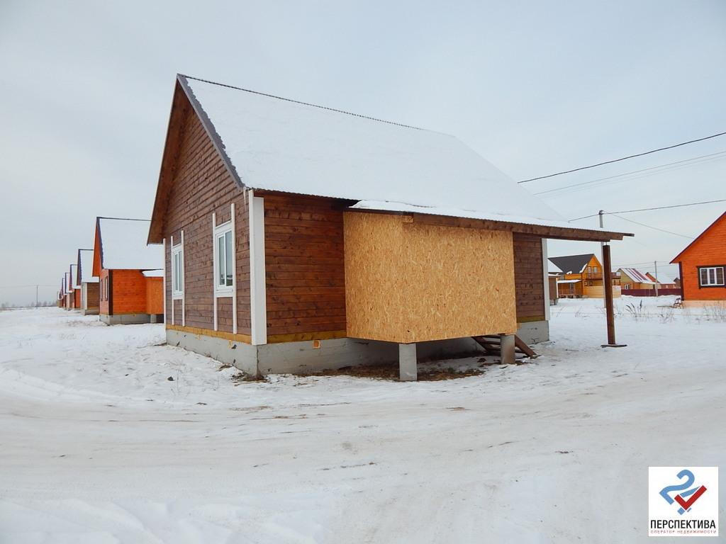 Одноэтажный дом из бруса, общей площадью 70 кв.м, на земельном участк - Фото 1