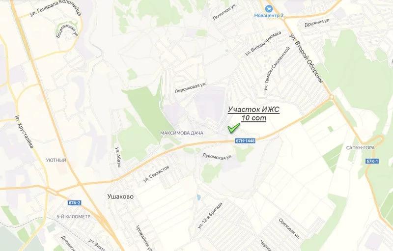 Продажа участка, Севастополь, Шоссе Генерала Моргунова - Фото 0