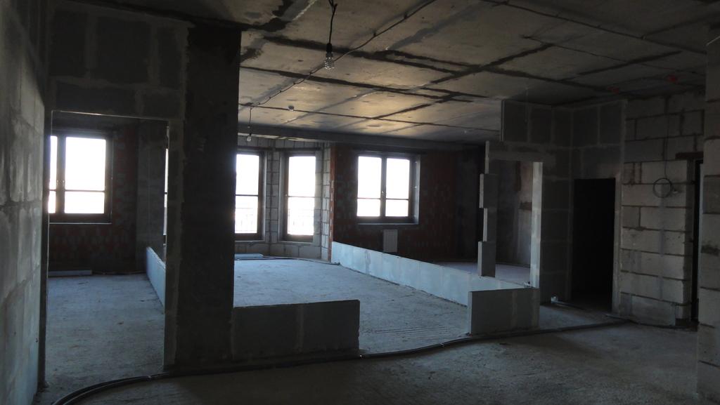 286кв.м, св. планировка, 9 этаж, 1секция - Фото 23