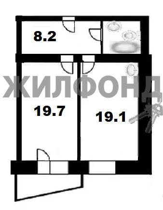 Продажа квартиры, Новосибирск, м. Октябрьская, Ул. Гурьевская - Фото 0