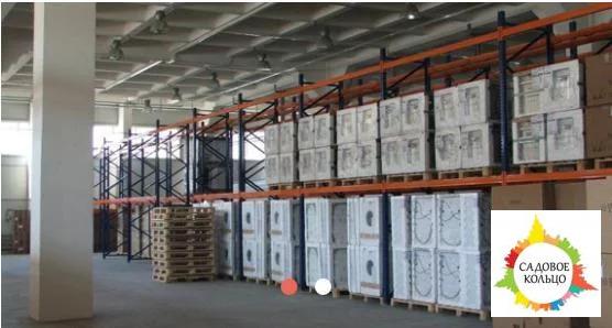 Под склад, площ.: выс. потолка: 6 м, отаплив, огорож. терр, охрана, - Фото 2