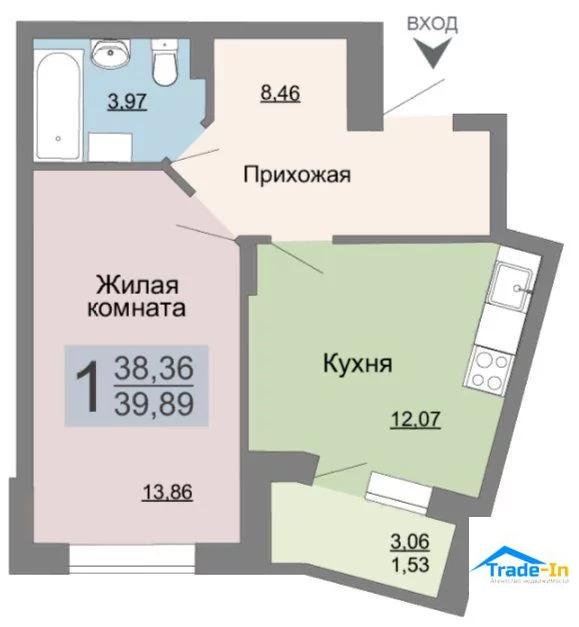 Продажа квартиры, Воронеж, Ул. Саврасова - Фото 0