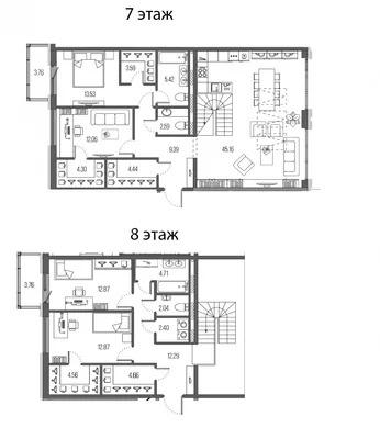 Шикарная двухуровневая 5е- квартира - Фото 0