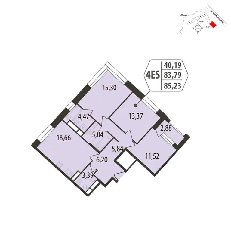 Продажа квартиры, Лётная - Фото 1
