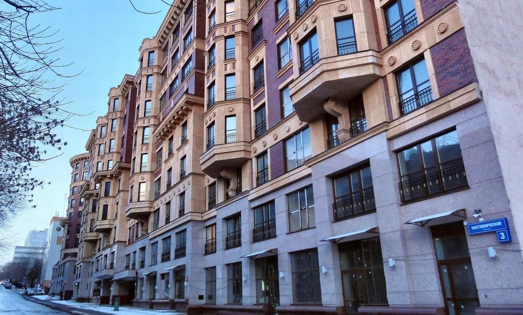 "62кв.м, 3 этаж, 8 секция в ЖК""Royal House on Yauza"" - Фото 8"
