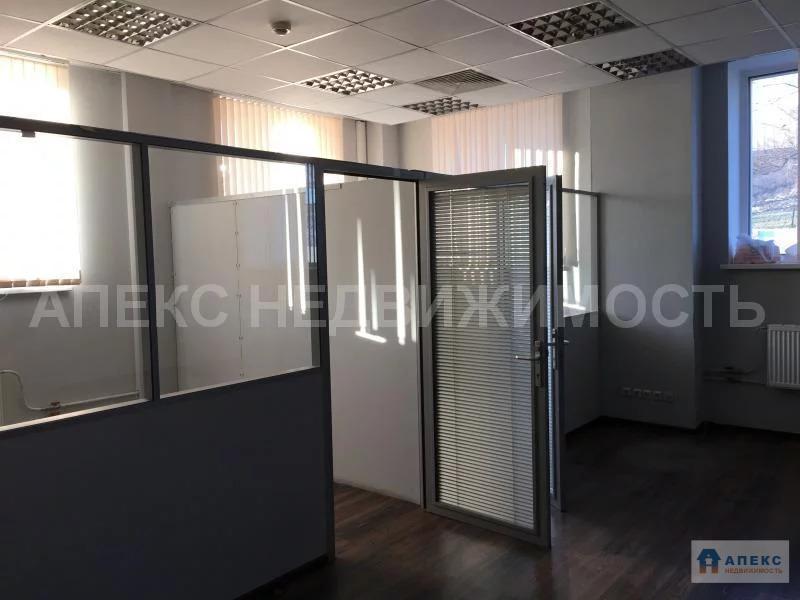 Аренда офиса 130 м2 м. Нагатинская в бизнес-центре класса В в Нагорный - Фото 4