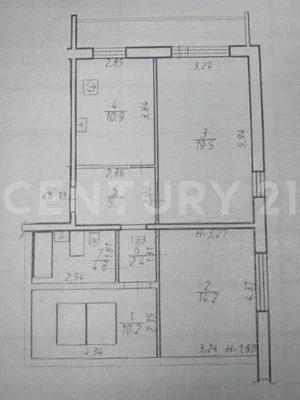 Предлагается к покупке 3-комнатная квартира - Фото 13