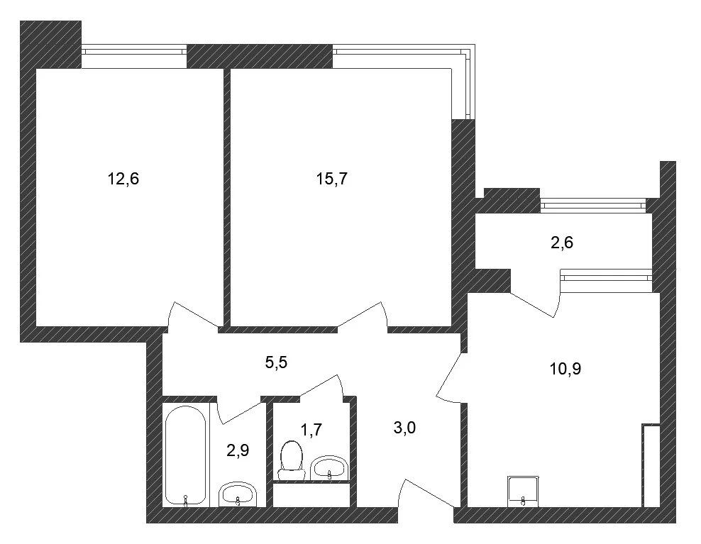 Продажа квартиры, Тюменский проезд - Фото 0