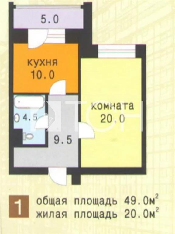 1-комн. квартира, Мытищи, ул Белобородова, 2к2 - Фото 33