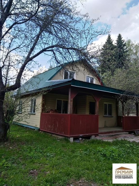 Продается дача 110 кв.м/ пгт Михнево , участок 8 с - Фото 1