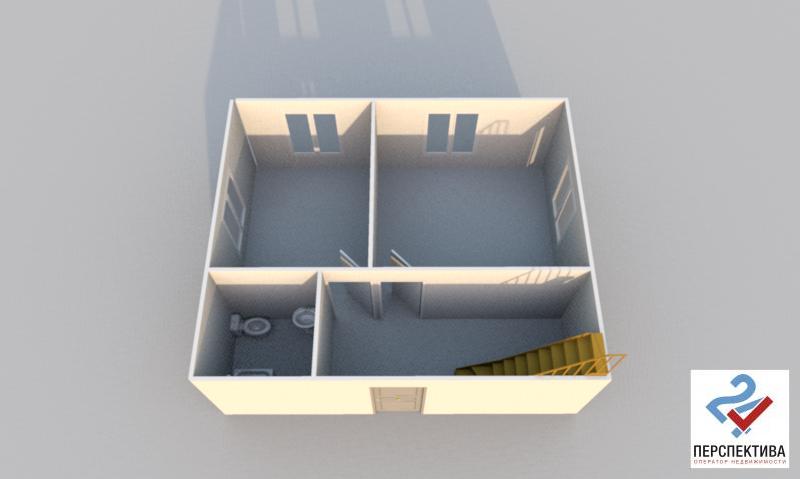Лот 203. Двухэтажный дом, общей площадью 90 кв.м. - Фото 22
