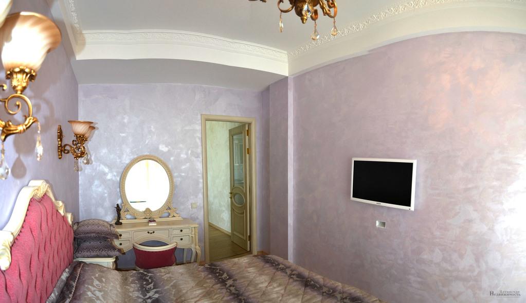 Квартира с дизайнерским ремонтом в элитном ЖК, в Гурзуфе, вид на море - Фото 10