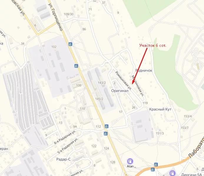 Продажа участка, Севастополь, Ул. Ромашковая - Фото 0