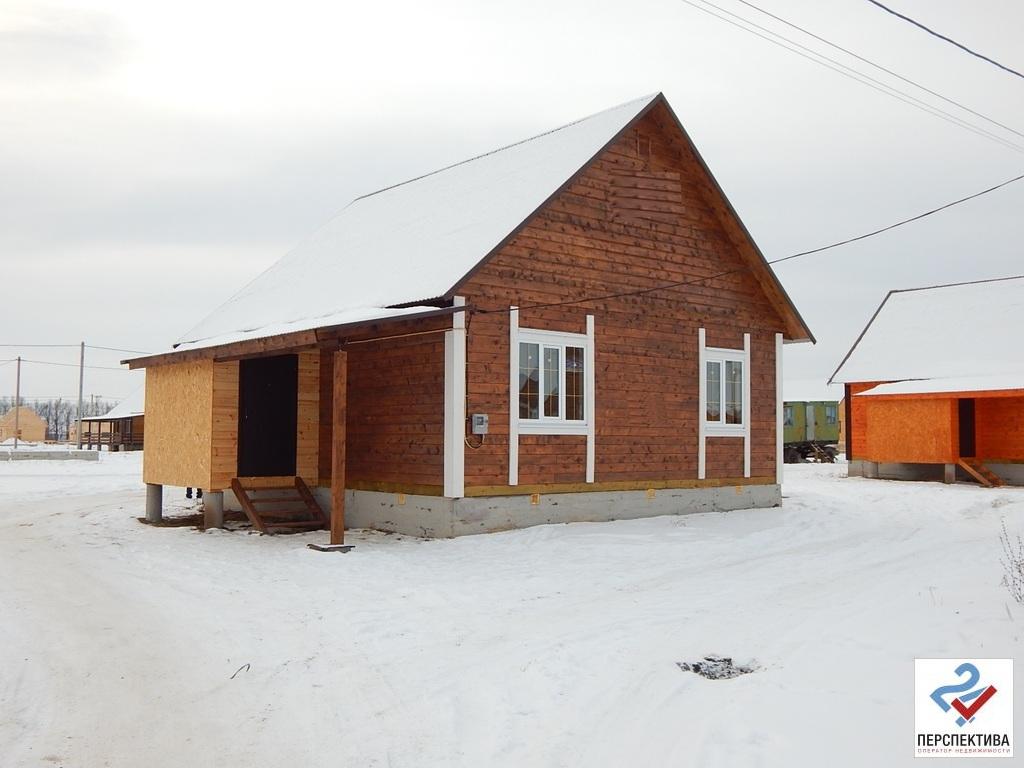 Одноэтажный дом из бруса, общей площадью 70 кв.м, на земельном участк - Фото 2