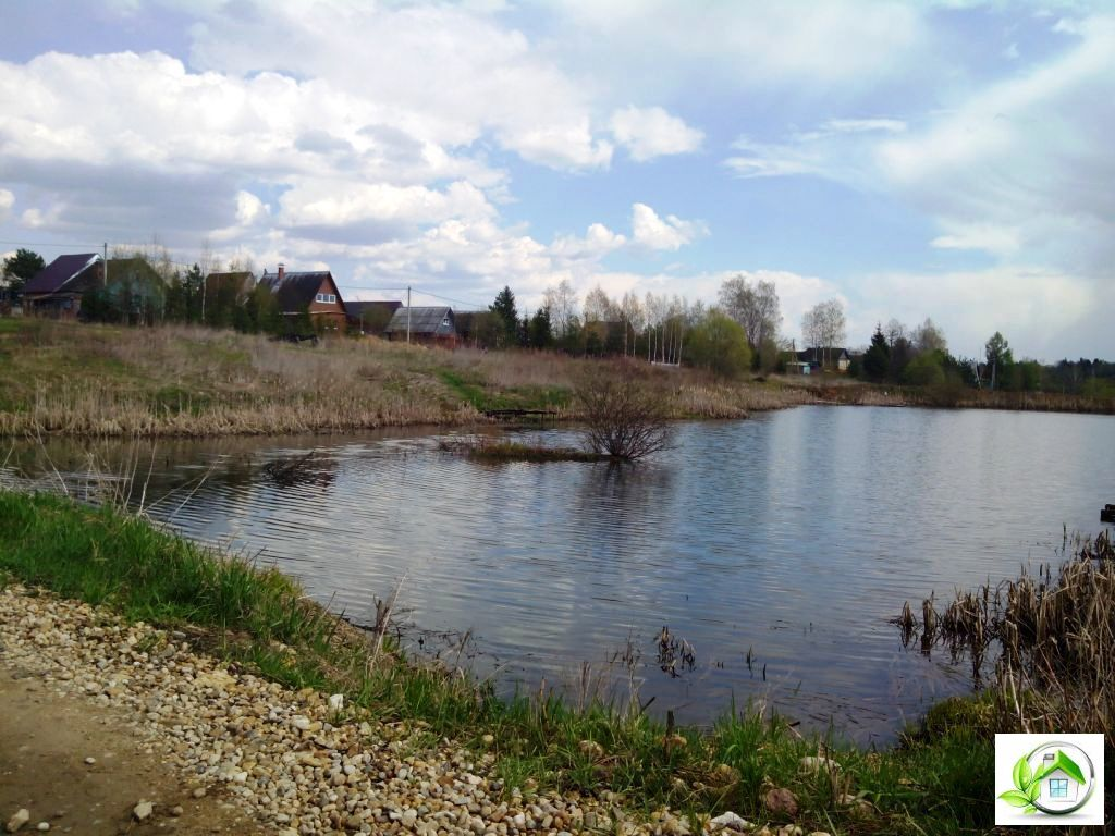 Купить земельный участок 12 соток в середине деревни, в Московской обл - Фото 1