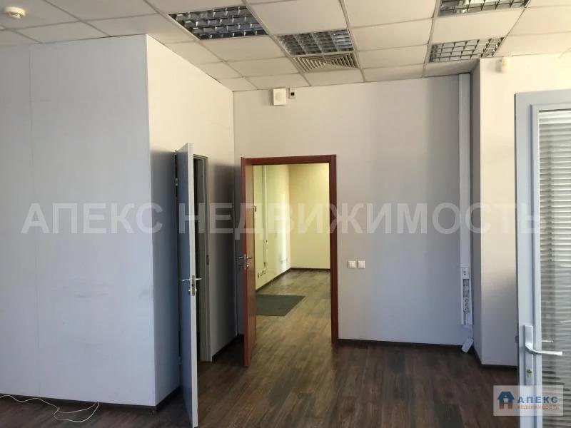 Аренда офиса 130 м2 м. Нагатинская в бизнес-центре класса В в Нагорный - Фото 6