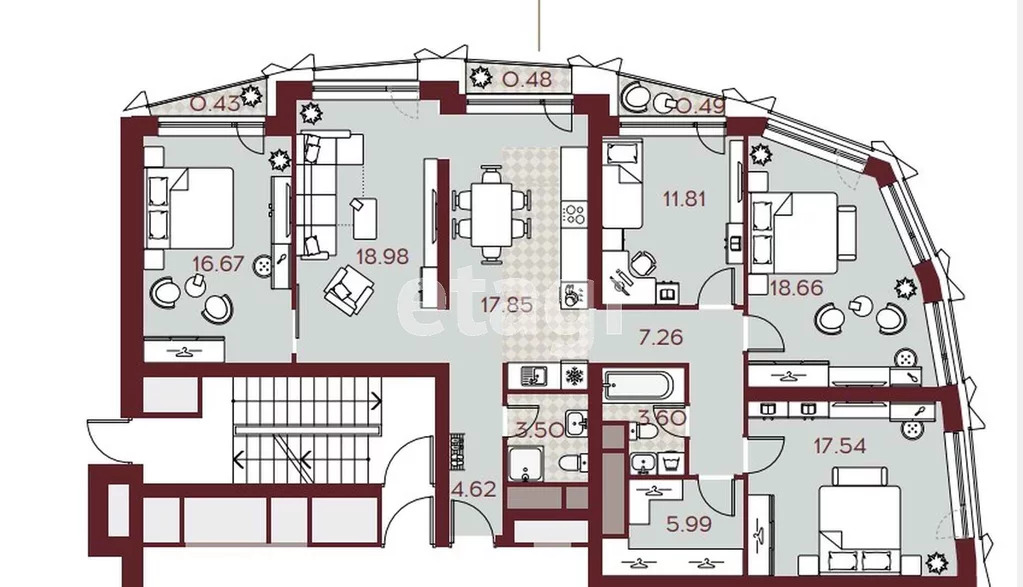 Продажа квартиры, м. Автозаводская, Автозаводская площадь - Фото 0