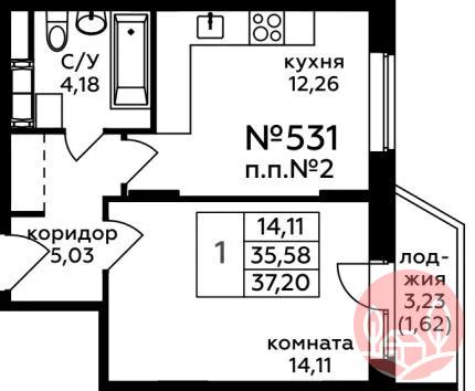 Продажа квартиры, Видное, Ленинский район, Б-р Зеленые аллеи - Фото 0
