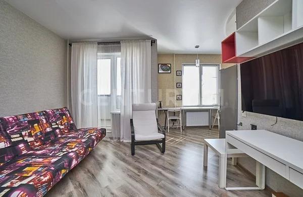 Продажа квартиры-студии 32,2 м на 3/10 этаже панельного дома на ул. - Фото 1