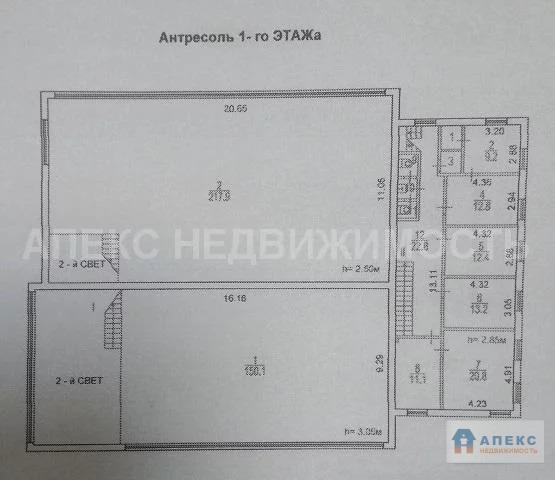 Продажа помещения пл. 1126 м2 под производство, офис и склад м. . - Фото 9
