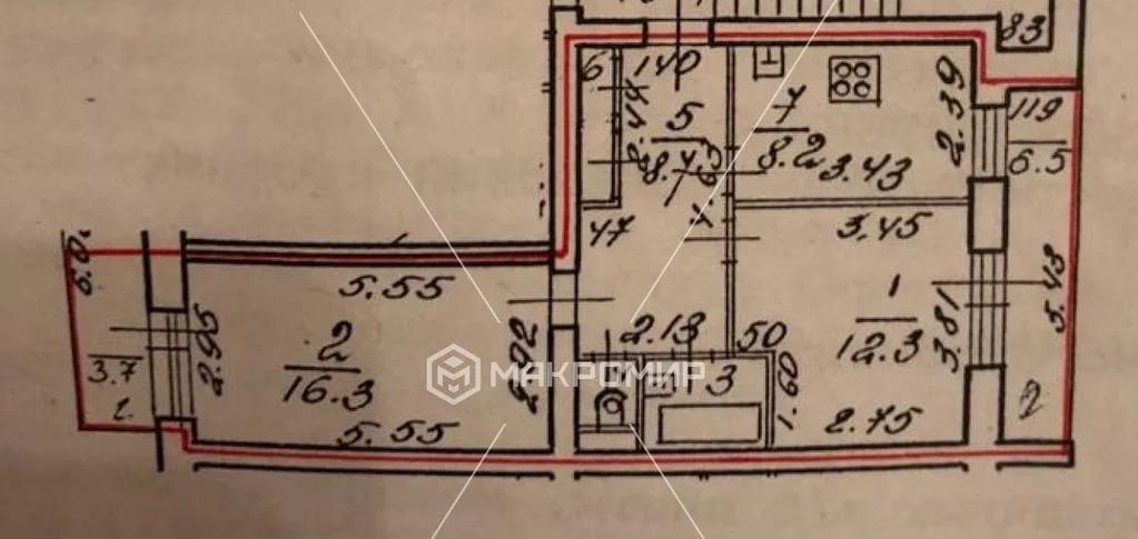 Продажа квартиры, Сестрорецк, Советский проспект - Фото 1