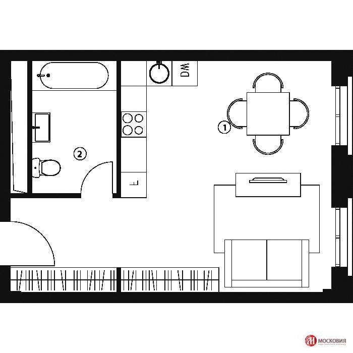Продажа квартиры, Купить квартиру в Москве, ID объекта - 332299869 - Фото 1