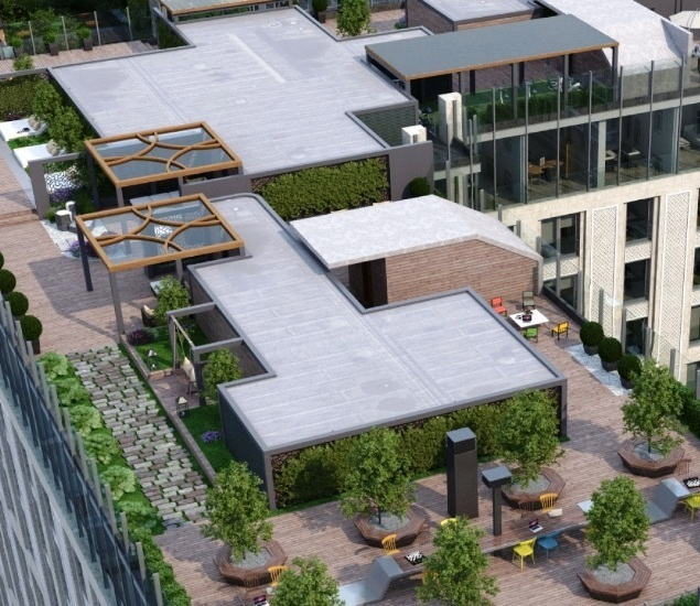 "ЖК ""Сады Пекина""- Penthouse, 177 кв.м, 13/13 этаж, 1 корпус, 5 спален - Фото 16"
